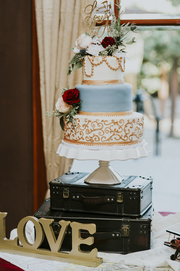 fall vintage wedding