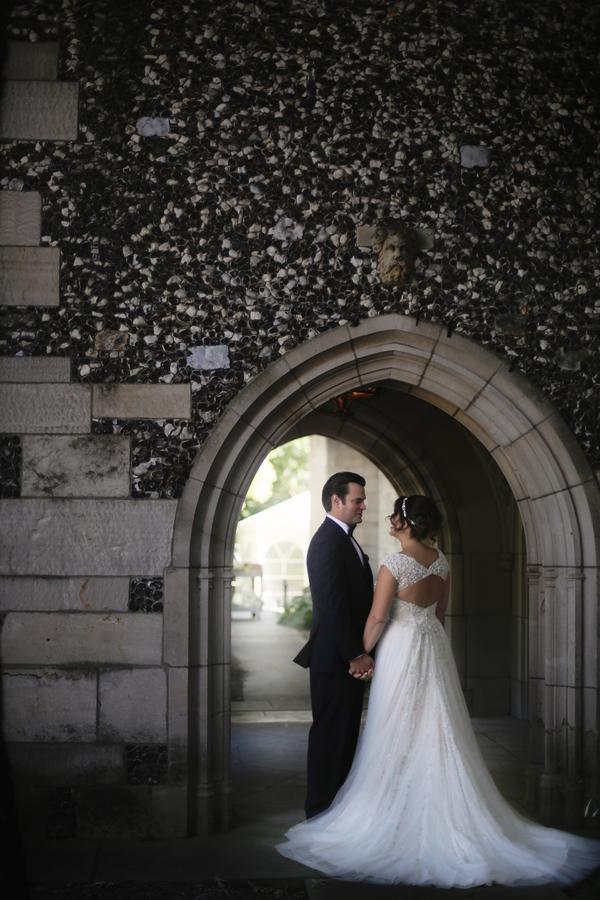 romantic castle wedding