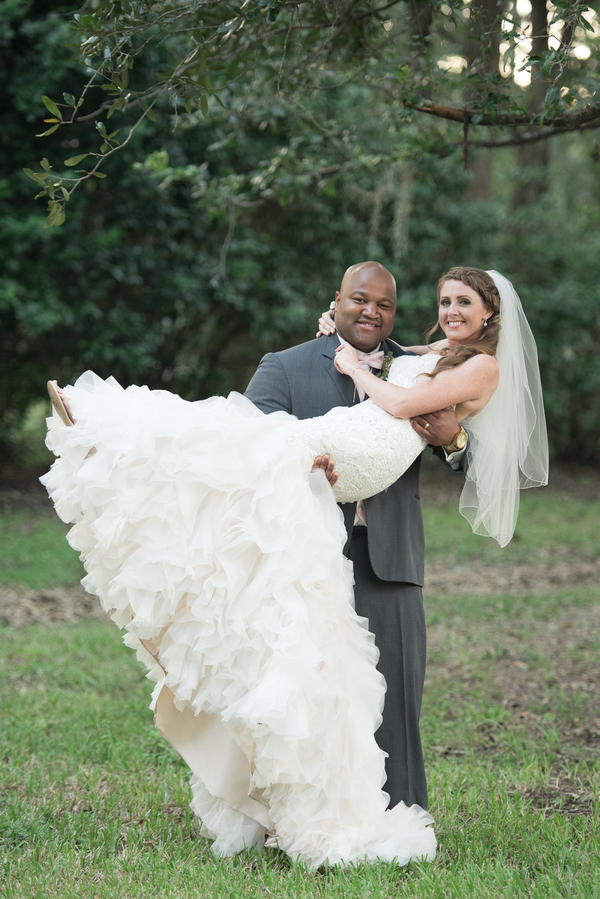 fall plantation wedding