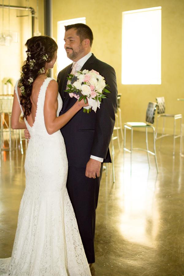 modern romantic wedding