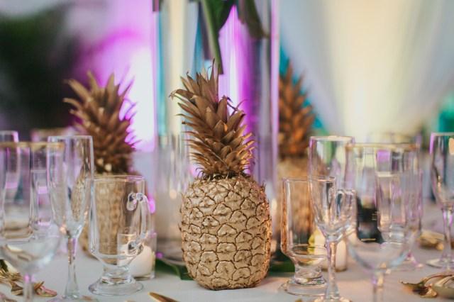 tropical aquarium wedding