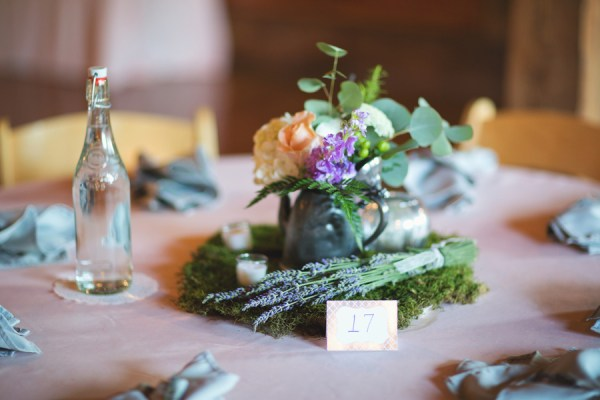 rustic summer wedding