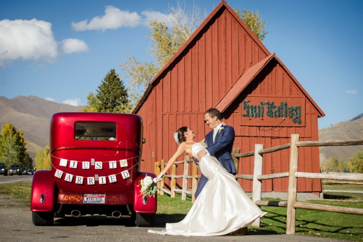 classic mountain wedding