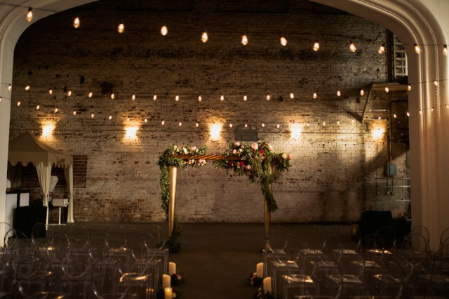 modern industrial wedding