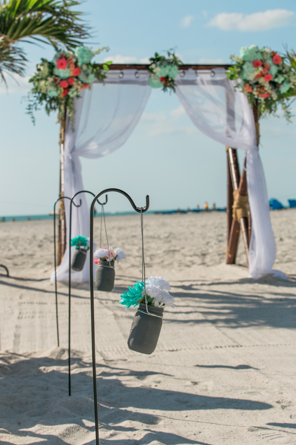 spring seaside wedding