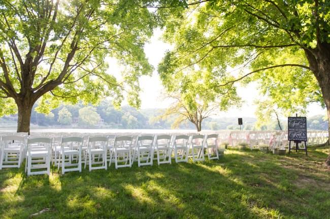 woodsy summer wedding