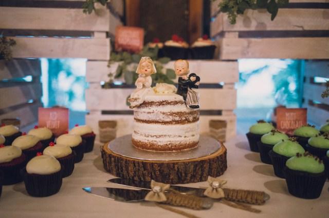 romantic rainy wedding