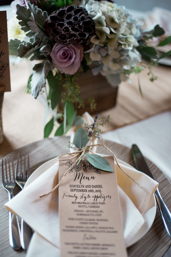intimate vintage wedding