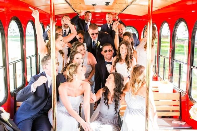 modern chic wedding