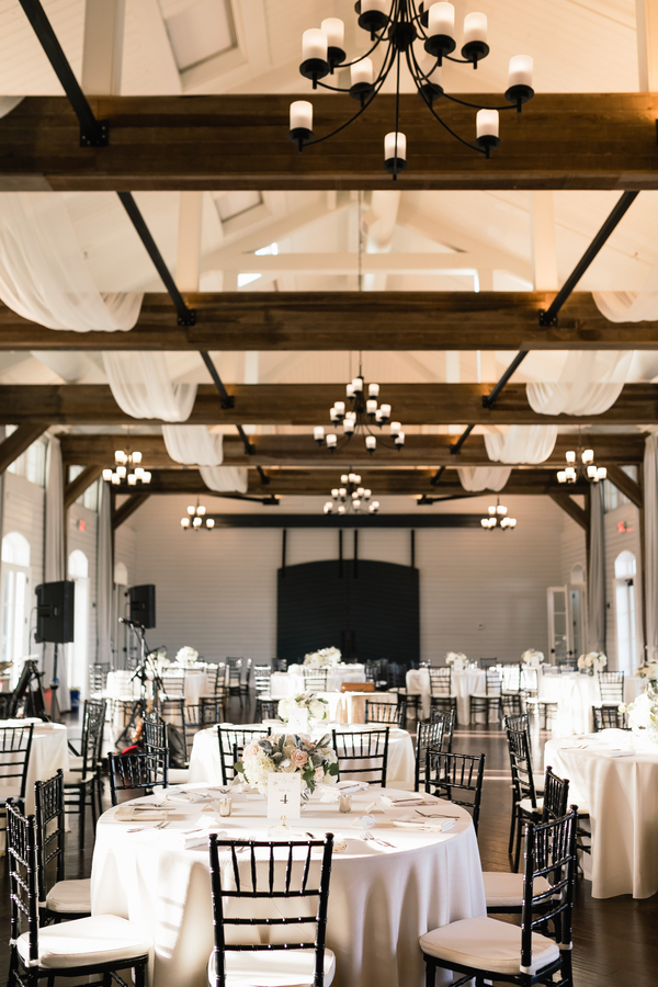 modern country chic wedding