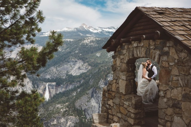 intimate Yosemite wedding