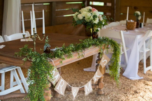vintage barn wedding