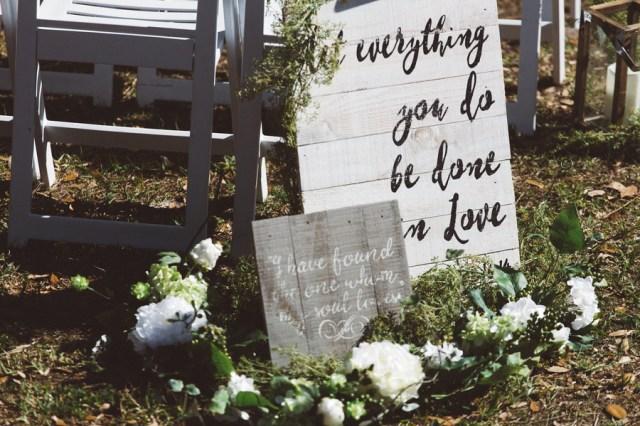 St. Patrick's themed boho wedding