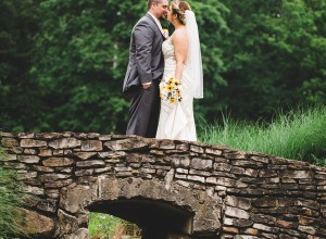 spring countryside wedding