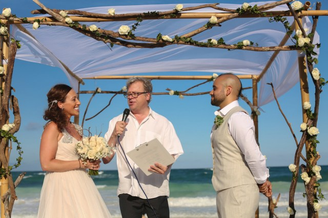 boho chic Tulum beach wedding