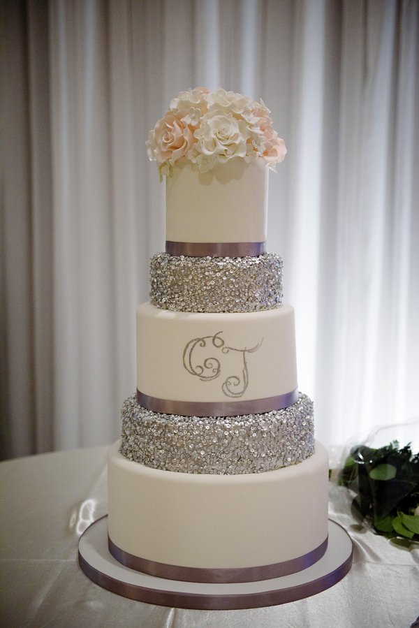 elegant sparkly wedding