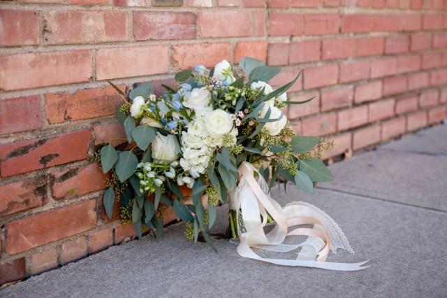 blue urban wedding