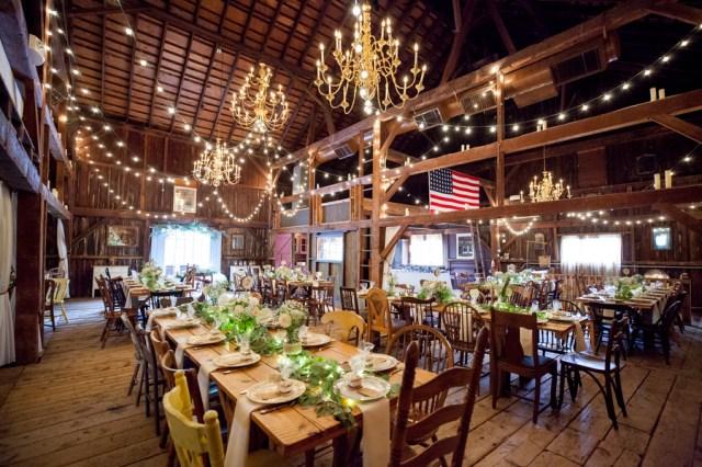 Michelle Chad S Rustic Farmhouse Wedding Modern Weddings