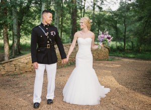 southern military wedding