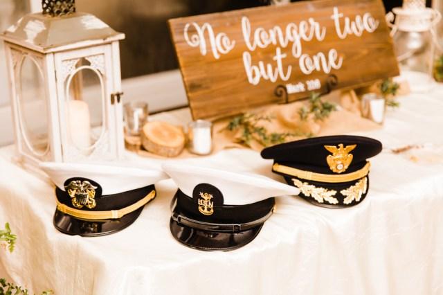 southern military wedding
