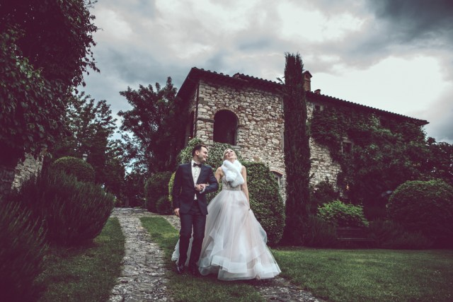 romantic Italian wedding
