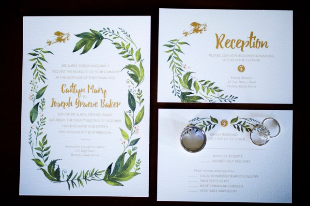 aviation-inspired wedding