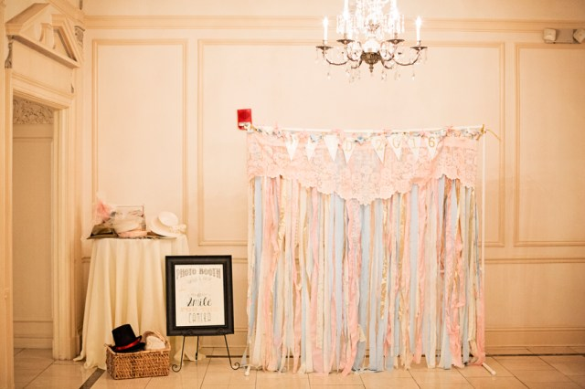 pink Tennessee ballroom wedding