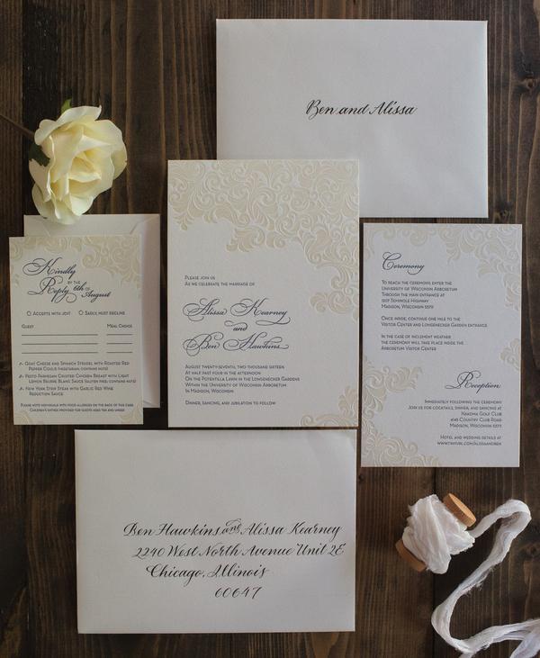 elegant arboretum wedding