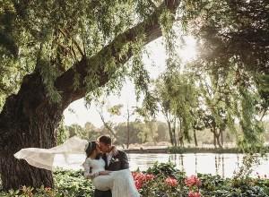 chic vintage garden wedding