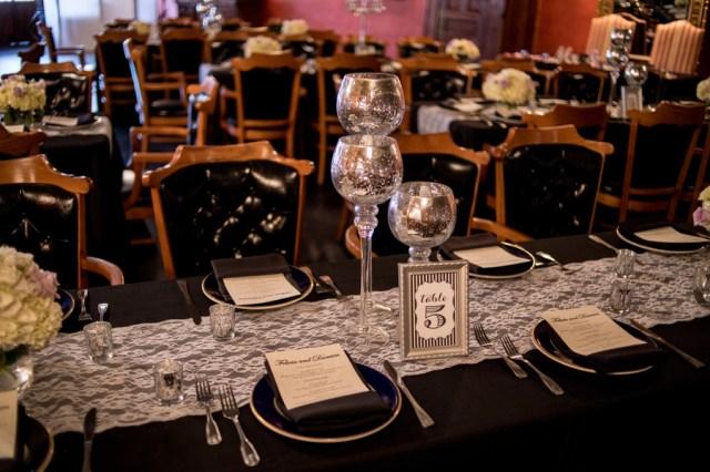 glamorous vintage wedding