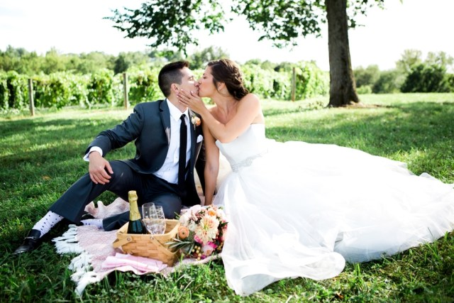 Missouri vineyard wedding