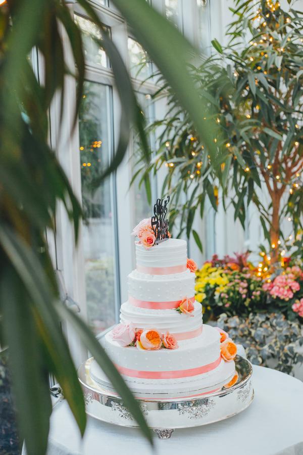 colorful summer garden wedding