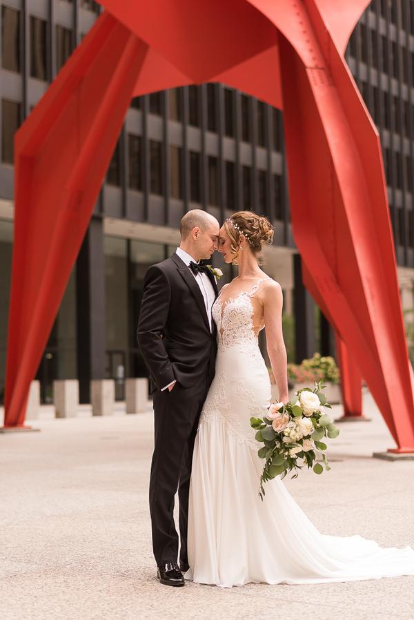 Chicago club wedding