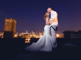 Chicago glam wedding