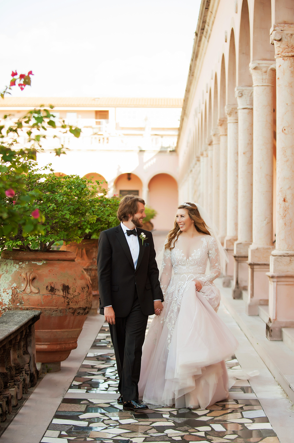 Florida museum wedding