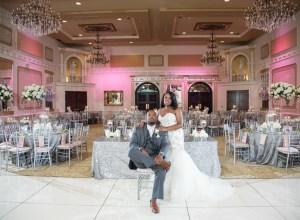 glamorous North Carolina wedding
