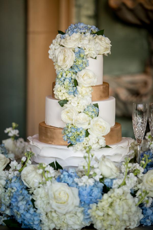 classic blue wedding
