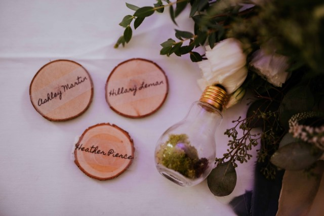 woodsy Michigan wedding
