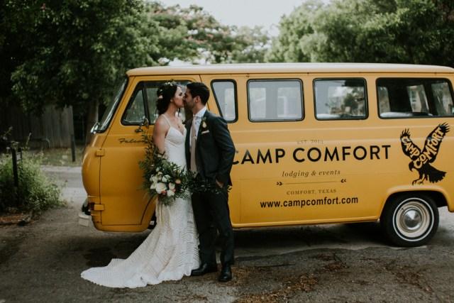 boho camp wedding