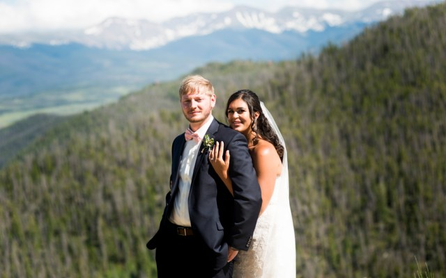 Colorado lodge wedding