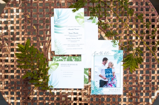 eco-friendly California wedding