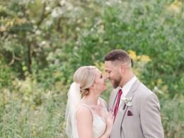 red farm wedding