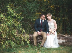 fall Ohio wedding