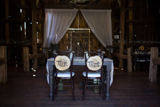 rustic Ontario wedding