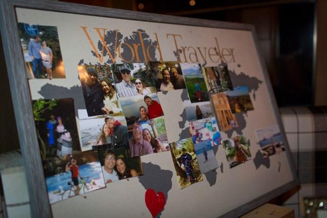 fall travel-inspired wedding