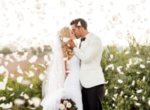 romantic outdoor wedding