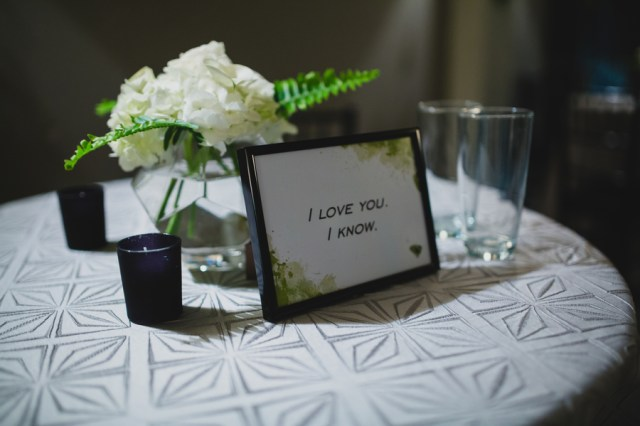 modern elegant wedding