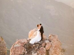 glamorous outdoor wedding