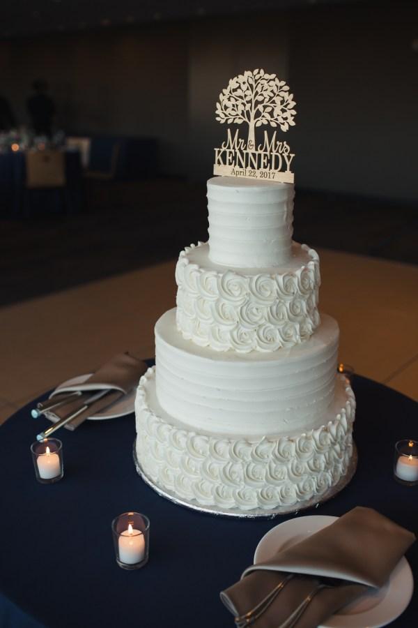 navy spring wedding