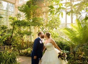 fall museum wedding